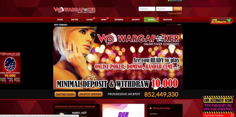 Strategi Menang Situs Poker Online Terpercaya Di Wargapoker